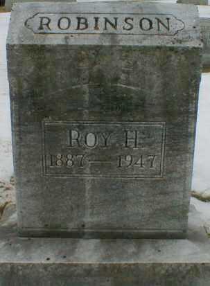 ROBINSON, ROY - Gallia County, Ohio | ROY ROBINSON - Ohio Gravestone Photos