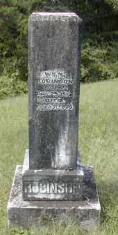 ROBINSON, WILLIAM - Gallia County, Ohio | WILLIAM ROBINSON - Ohio Gravestone Photos