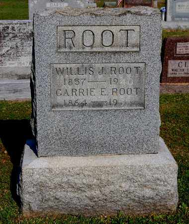 ROOT, WILLIS J - Gallia County, Ohio | WILLIS J ROOT - Ohio Gravestone Photos