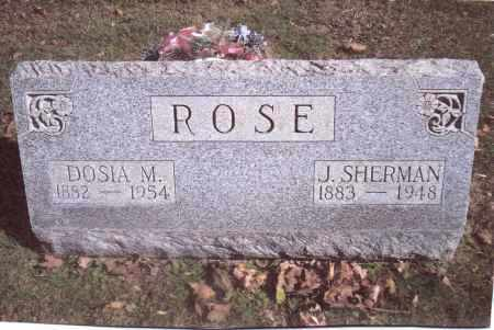 ROSE, DOSIA M. - Gallia County, Ohio | DOSIA M. ROSE - Ohio Gravestone Photos