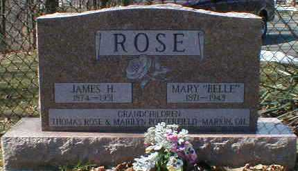 ROSE, JAMES - Gallia County, Ohio | JAMES ROSE - Ohio Gravestone Photos