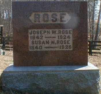 ROSE, SUSAN - Gallia County, Ohio | SUSAN ROSE - Ohio Gravestone Photos