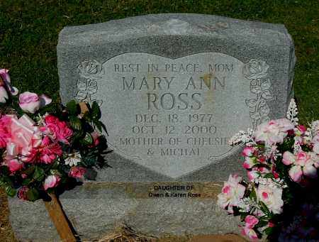 ROSS, MARY ANN - Gallia County, Ohio | MARY ANN ROSS - Ohio Gravestone Photos