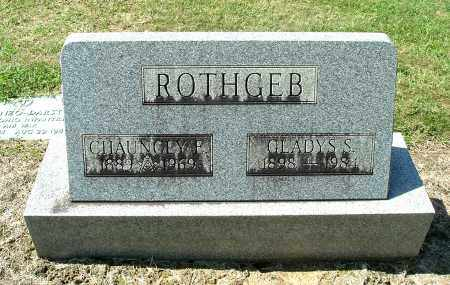 ROTHGEB, GLADYS S - Gallia County, Ohio | GLADYS S ROTHGEB - Ohio Gravestone Photos