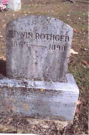 ROTHGEB, EDWIN - Gallia County, Ohio | EDWIN ROTHGEB - Ohio Gravestone Photos