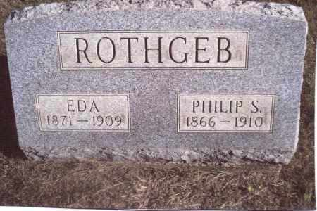 "SPIRES ROTHGEB, EDITH ""EDA"" - Gallia County, Ohio 