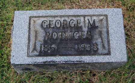 ROTHGEB, GEORGE M - Gallia County, Ohio | GEORGE M ROTHGEB - Ohio Gravestone Photos