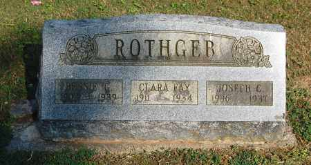 ROTHGEB, JOSEPH C - Gallia County, Ohio | JOSEPH C ROTHGEB - Ohio Gravestone Photos
