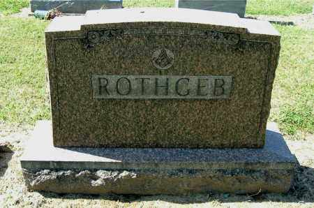ROTHGEB, MONUMENT - Gallia County, Ohio | MONUMENT ROTHGEB - Ohio Gravestone Photos