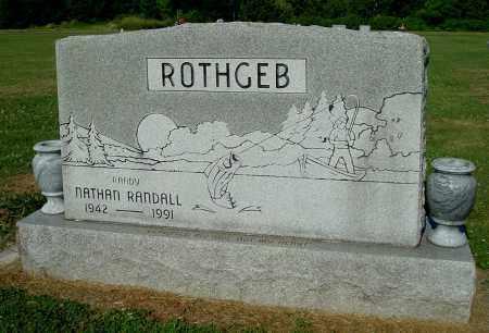 ROTHGEB, NATHAN RANDALL - Gallia County, Ohio | NATHAN RANDALL ROTHGEB - Ohio Gravestone Photos