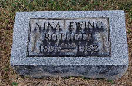 ROTHGEB, NINA - Gallia County, Ohio | NINA ROTHGEB - Ohio Gravestone Photos
