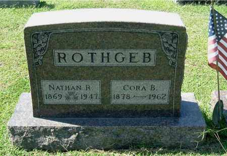 THOMPSON ROTHGEB, CORA B - Gallia County, Ohio | CORA B THOMPSON ROTHGEB - Ohio Gravestone Photos
