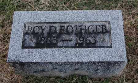 ROTHGEB, ROY D - Gallia County, Ohio | ROY D ROTHGEB - Ohio Gravestone Photos