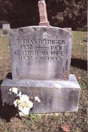 ROTHGEB, TOBIAS - Gallia County, Ohio | TOBIAS ROTHGEB - Ohio Gravestone Photos