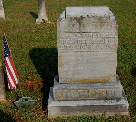 ROTHGEB, WESLEY - Gallia County, Ohio | WESLEY ROTHGEB - Ohio Gravestone Photos