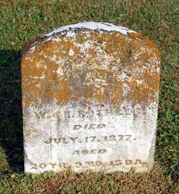 ROTHGEB, WESLEY LIVESAY - Gallia County, Ohio | WESLEY LIVESAY ROTHGEB - Ohio Gravestone Photos