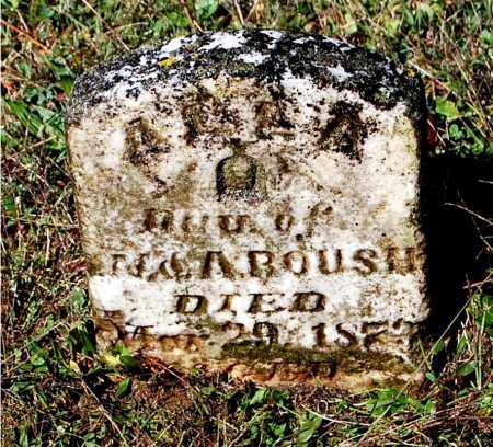 ROUSH, ALLA - Gallia County, Ohio | ALLA ROUSH - Ohio Gravestone Photos