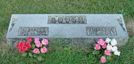 ROUSH, ALBERTUS - Gallia County, Ohio | ALBERTUS ROUSH - Ohio Gravestone Photos