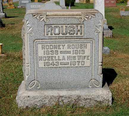 ROUSH, A. RODNEY - Gallia County, Ohio | A. RODNEY ROUSH - Ohio Gravestone Photos