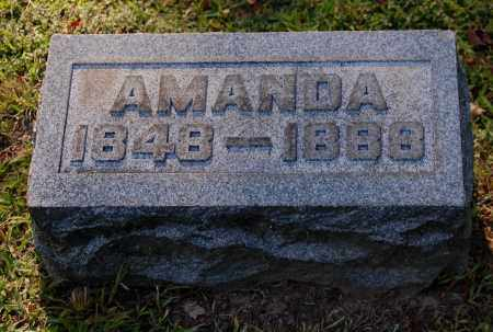 ROUSH, AMANDA - Gallia County, Ohio | AMANDA ROUSH - Ohio Gravestone Photos