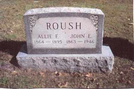 ROUSH, JOHN E. - Gallia County, Ohio | JOHN E. ROUSH - Ohio Gravestone Photos