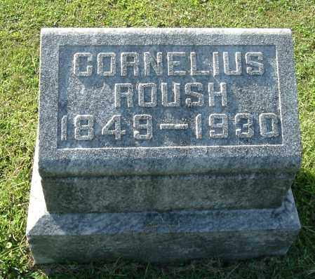 ROUSH, CORNELIUS - Gallia County, Ohio | CORNELIUS ROUSH - Ohio Gravestone Photos