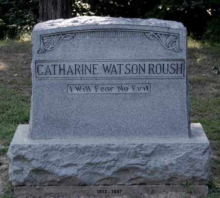 ROUSH, CATHARINE - Gallia County, Ohio | CATHARINE ROUSH - Ohio Gravestone Photos