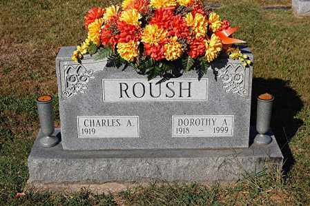 ROUSH, CHARLES A. - Gallia County, Ohio | CHARLES A. ROUSH - Ohio Gravestone Photos