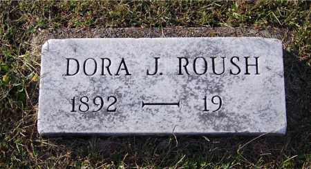 ROUSH, DORA J - Gallia County, Ohio | DORA J ROUSH - Ohio Gravestone Photos