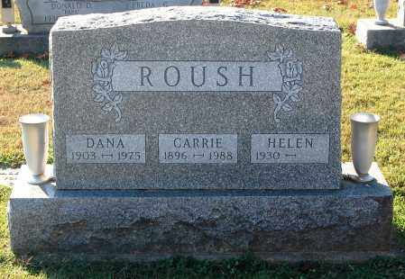 ROUSH, CARRIE - Gallia County, Ohio | CARRIE ROUSH - Ohio Gravestone Photos