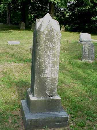 RAYBURN ROUSH, ELIZABETH - Gallia County, Ohio | ELIZABETH RAYBURN ROUSH - Ohio Gravestone Photos