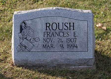ROUSH, FRANCES E - Gallia County, Ohio | FRANCES E ROUSH - Ohio Gravestone Photos