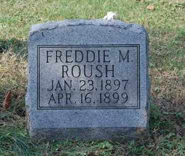 ROUSH, FREDDIE M - Gallia County, Ohio | FREDDIE M ROUSH - Ohio Gravestone Photos