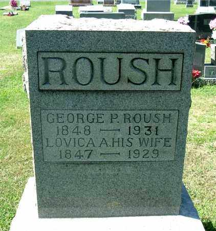 LEE ROUSH, LOVICA A - Gallia County, Ohio | LOVICA A LEE ROUSH - Ohio Gravestone Photos