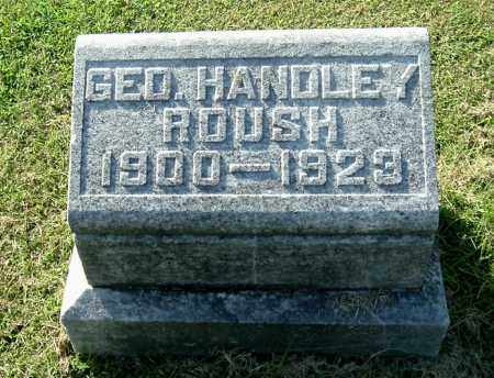 ROUSH, GEORGE HANDLEY - Gallia County, Ohio | GEORGE HANDLEY ROUSH - Ohio Gravestone Photos