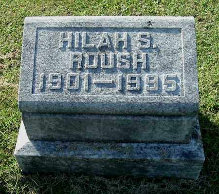 ROUSH, HILAH S - Gallia County, Ohio | HILAH S ROUSH - Ohio Gravestone Photos