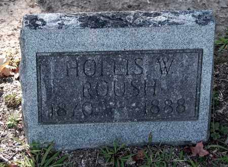 ROUSH, HOLLIS W - Gallia County, Ohio | HOLLIS W ROUSH - Ohio Gravestone Photos