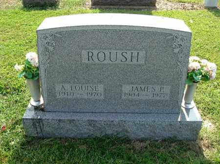 ROUSH, JAMES P - Gallia County, Ohio | JAMES P ROUSH - Ohio Gravestone Photos