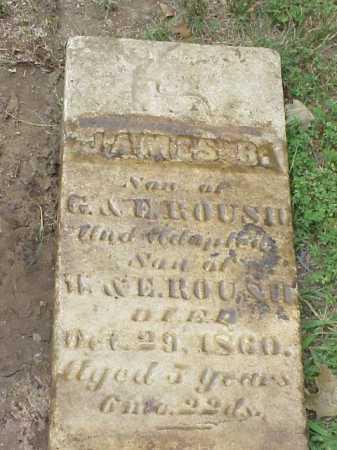 ROUSH, JAMES R. - Gallia County, Ohio | JAMES R. ROUSH - Ohio Gravestone Photos