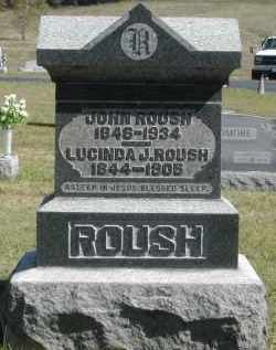 ROUSH, LUCINDA - Gallia County, Ohio | LUCINDA ROUSH - Ohio Gravestone Photos