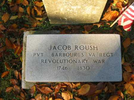 ROUSH, JACOB - Gallia County, Ohio | JACOB ROUSH - Ohio Gravestone Photos