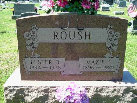 ROUSH, LESTER D - Gallia County, Ohio | LESTER D ROUSH - Ohio Gravestone Photos