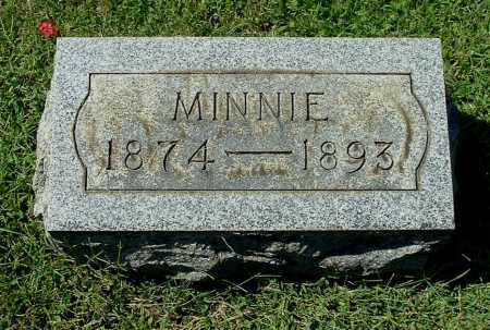 ROUSH, MINNIE - Gallia County, Ohio | MINNIE ROUSH - Ohio Gravestone Photos
