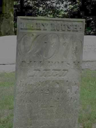 ROUSH, MARY - Gallia County, Ohio | MARY ROUSH - Ohio Gravestone Photos