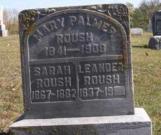 ROUSH, LEANDER - Gallia County, Ohio | LEANDER ROUSH - Ohio Gravestone Photos