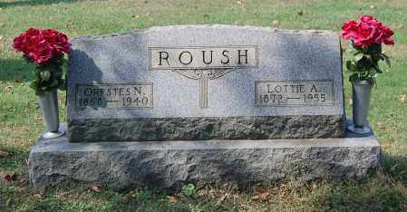 ROUSH, LOTTIE A - Gallia County, Ohio | LOTTIE A ROUSH - Ohio Gravestone Photos
