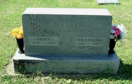 FOLDEN ROUSH, VIOLA - Gallia County, Ohio | VIOLA FOLDEN ROUSH - Ohio Gravestone Photos