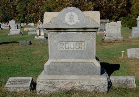 ROUSH, OVERVIEW - Gallia County, Ohio | OVERVIEW ROUSH - Ohio Gravestone Photos