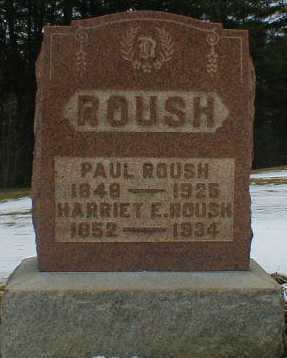 ROUSH, PAUL - Gallia County, Ohio | PAUL ROUSH - Ohio Gravestone Photos