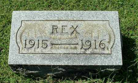ROUSH, REX - Gallia County, Ohio | REX ROUSH - Ohio Gravestone Photos